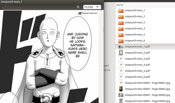 OnePunch Man downloaded