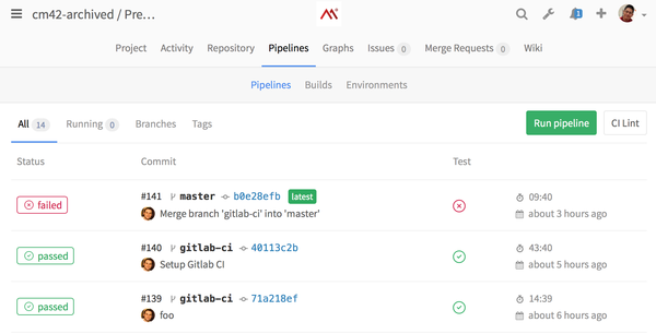 Moving to GitLab! Yes, it'