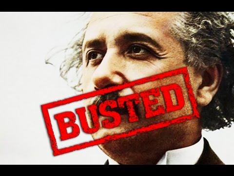Einstein, debunked