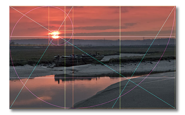 Golden Ratio Composition