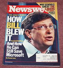 How Bill Blew it